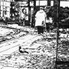 urban sketch, südbahnhof